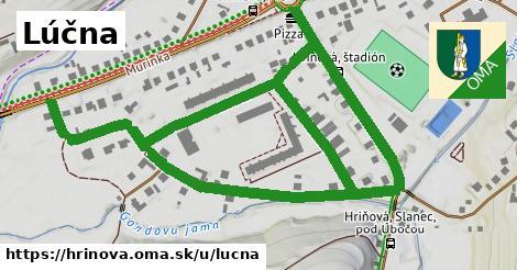 ilustrácia k Lúčna, Hriňová - 1,39km