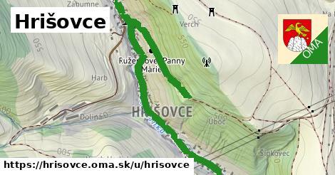 ilustrácia k Hrišovce, Hrišovce - 2,3km
