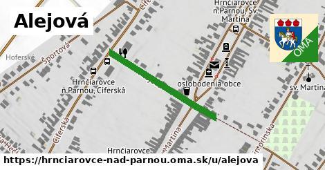 ilustrácia k Alejová, Hrnčiarovce nad Parnou - 551m