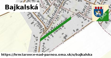 ilustrácia k Bajkalská, Hrnčiarovce nad Parnou - 258m