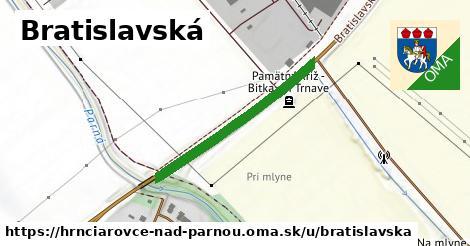 ilustrácia k Bratislavská, Hrnčiarovce nad Parnou - 314m