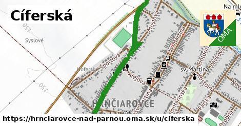 ilustrácia k Cíferská, Hrnčiarovce nad Parnou - 1,52km