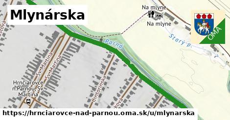 ilustrácia k Mlynárska, Hrnčiarovce nad Parnou - 0,80km