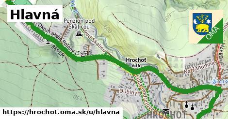 ilustrácia k Hlavná, Hrochoť - 1,09km