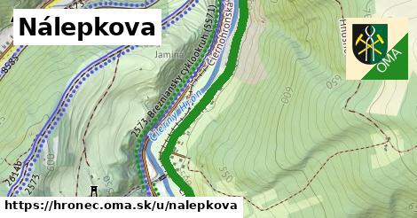 ilustrácia k Nálepkova, Hronec - 1,23km