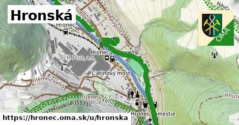 ilustrácia k Hronská, Hronec - 1,39km