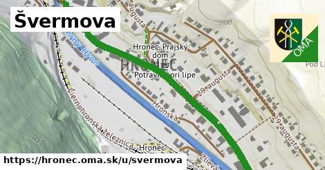ilustrácia k Švermova, Hronec - 629m