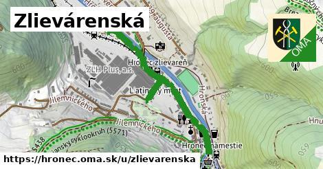 ilustrácia k Zlievárenská, Hronec - 0,90km