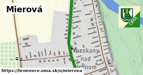 ilustrácia k Mierová, Hronovce - 434m