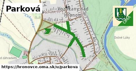 ilustrácia k Parková, Hronovce - 0,90km