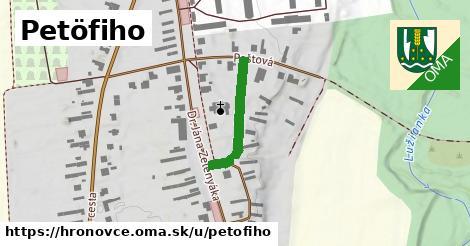 ilustrácia k Petöfiho, Hronovce - 209m
