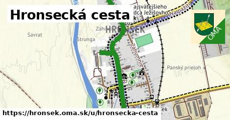 ilustrácia k Hronsecká cesta, Hronsek - 1,51km