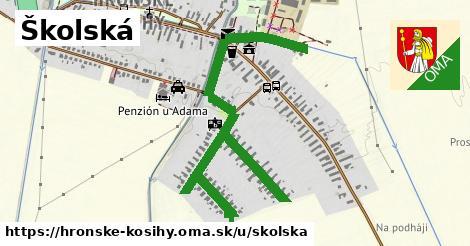 Školská, Hronské Kosihy