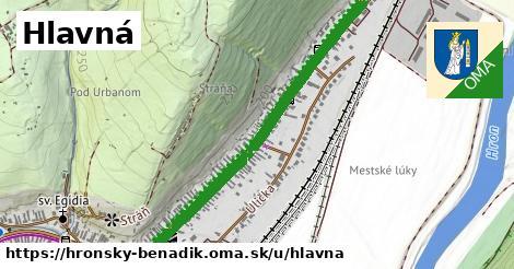 ilustrácia k Hlavná, Hronský Beňadik - 2,4km