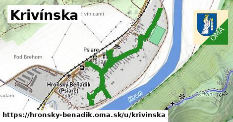 ilustrácia k Krivínska, Hronský Beňadik - 1,03km