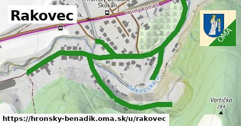 ilustrácia k Rakovec, Hronský Beňadik - 0,98km