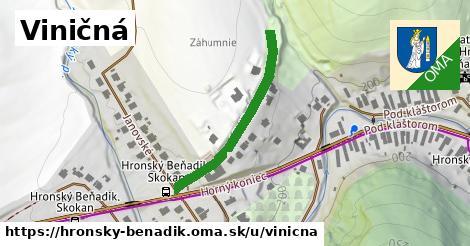 ilustrácia k Viničná, Hronský Beňadik - 307m