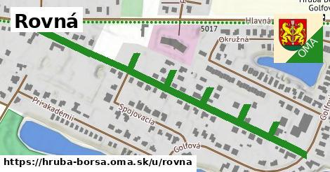 ilustrácia k Rovná, Hrubá Borša - 0,88km