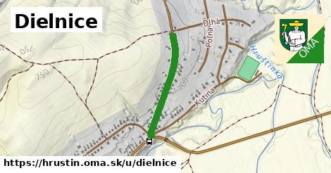 ilustrácia k Dielnice, Hruštín - 479m