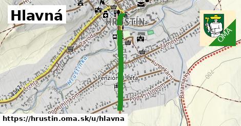 ilustrácia k Hlavná, Hruštín - 556m