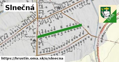 ilustrácia k Slnečná, Hruštín - 283m