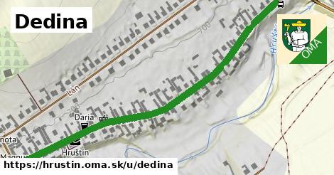 ilustrácia k Dedina, Hruštín - 0,78km