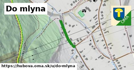 ilustrácia k Do mlyna, Hubová - 169m