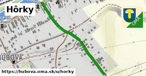 ilustrácia k Hôrky, Hubová - 494m