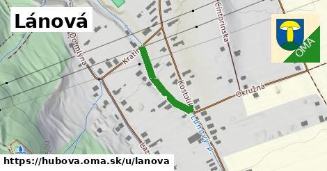 ilustrácia k Lánová, Hubová - 193m