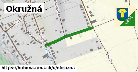 ilustrácia k Okružná, Hubová - 273m