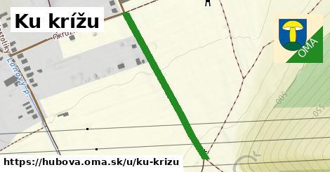 ilustrácia k Ku krížu, Hubová - 1,10km