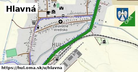 ilustračný obrázok k Hlavná, Hul