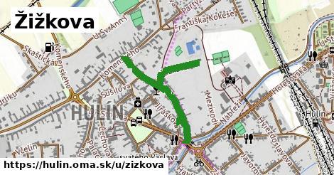 ilustrácia k Žižkova, Hulín - 0,76km