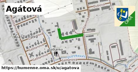 ilustrácia k Agátová, Humenné - 122m