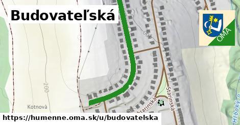 ilustrácia k Budovateľská, Humenné - 421m