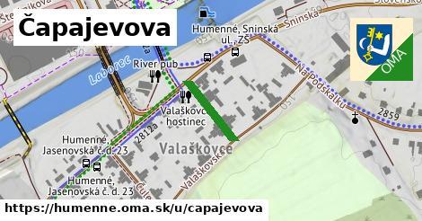 ilustrácia k Čapajevova, Humenné - 131m