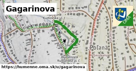ilustrácia k Gagarinova, Humenné - 259m