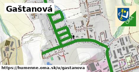 ilustrácia k Gaštanová, Humenné - 2,4km