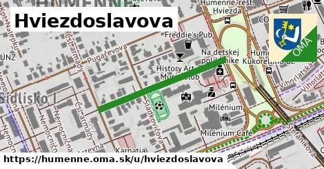 ilustrácia k Hviezdoslavova, Humenné - 309m