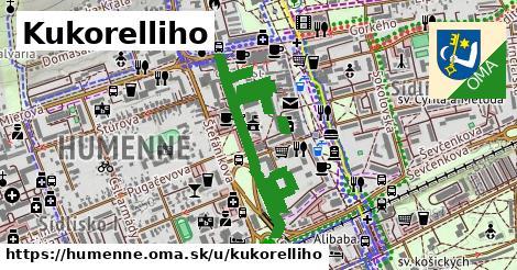 ilustrácia k Kukorelliho, Humenné - 1,25km