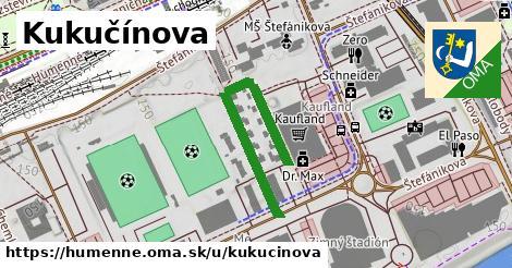 ilustrácia k Kukučínova, Humenné - 328m