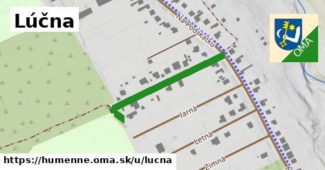 ilustrácia k Lúčna, Humenné - 258m