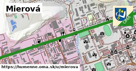ilustrácia k Mierová, Humenné - 2,6km