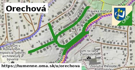 ilustrácia k Orechová, Humenné - 1,09km