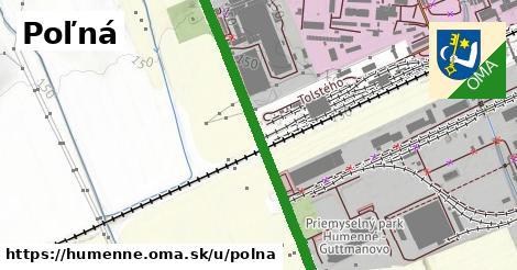 ilustrácia k Poľná, Humenné - 1,60km