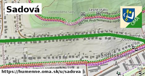 ilustrácia k Sadová, Humenné - 0,77km