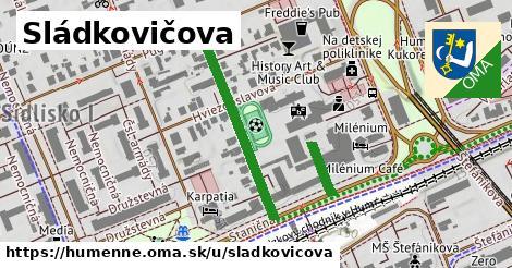 ilustrácia k Sládkovičova, Humenné - 374m