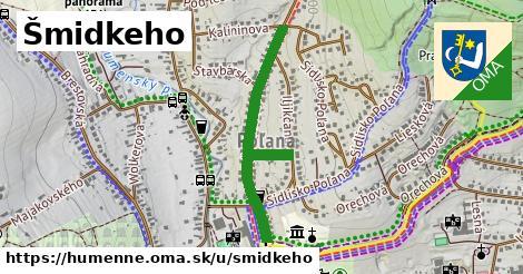 ilustrácia k Šmidkeho, Humenné - 0,76km