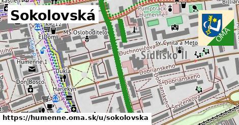 ilustrácia k Sokolovská, Humenné - 513m