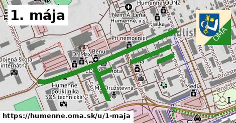 ilustrácia k 1. mája, Humenné - 0,81km
